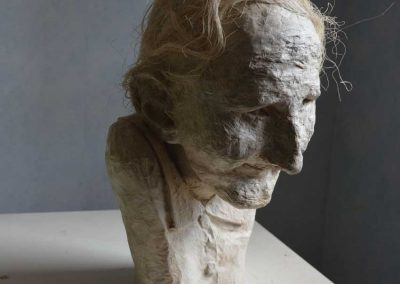 Nina Umova - 36,7 x 22 cm - papier et sisal - © Marie-Pierre Lavallard
